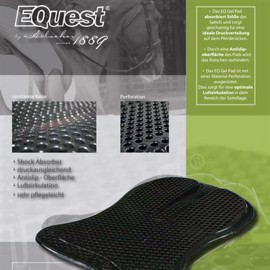 Equest Gel-Pad Back Riser