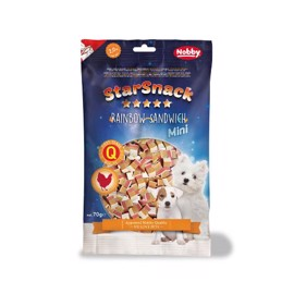 Starsnack Mini, soft chicken sandwich 70g