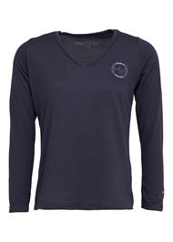 Montar Sweater v-neck grå